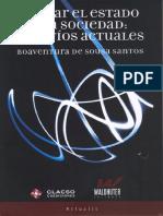 PENSAR EL ESTADO Y LA SOCIEDAD - DE SOUZA SANTOS.pdf