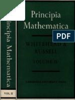 Whitehead a. N., Russell B. - Principia Mathematica. Volume II (1963)