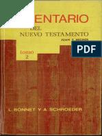 Comentario Juan y Hechos Tomo II (1977) Bonnet- Schroeder (1).pdf