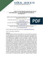 003_a Extensão Como Ação de Responsabilidade Social Universitária_ o Caso Do Projeto Saúde Em Movimento.