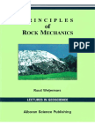 Principles of Rock Mechanics