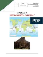 Tectónica Placas y Estructuras Geológicas