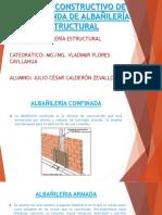 Proceso Constructivo de Una Vivienda de Albañilería Estructural