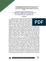 Aktivitas Anti Bakteri Ekstrak Metanol