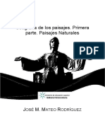 Geografia de Los Paisajes. Prim - Jose Manuel Mateo-Rodriguez
