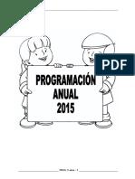 Programación Anual Inicial 5 Años 2018