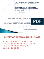 2da Clase. Artrología y Miembro Superior. 2018 I. (4)