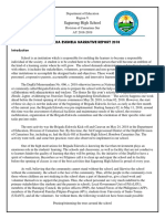 Brigada Eskwela 2018 Narrative Report