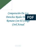 96342742 Comparacion de Los Derechos Reales Del Ius Romano Con El Codigo Civil Actua1