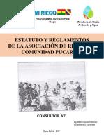 Estatuto Comunidad PUCARANI-TURCO