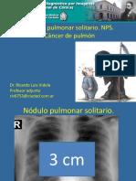 2017. 3. Nódulo Pulmonar Solitario y CA (Con Vista Del Moderador). Cuarto Año