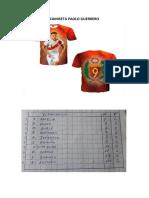 Camiseta Paolo Guerrero