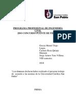 Puente de Papel Informe
