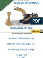 Curso Instruccion Operacion Excavadora Hidraulica 345cl Caterpillar Ferreyros 150531002640 Lva1 App6891