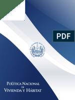 Política Nacional de Vivienda y Hábitat VF