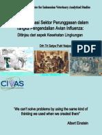 Restrukturisasi Sektor Perunggasan Dalam Rangka ian Avian Influenza
