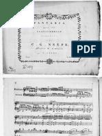 Neefe Christian Gottlob Fantaisie Pour Clavier 77310