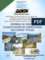 Normas de diseño MOP El Salvador