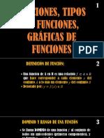 Clase 6 - 9) Funciones. Tipos de Funciones. Gráficas de Funciones