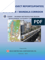 Metro Line 2B (D. N. Nagar to Mandale)