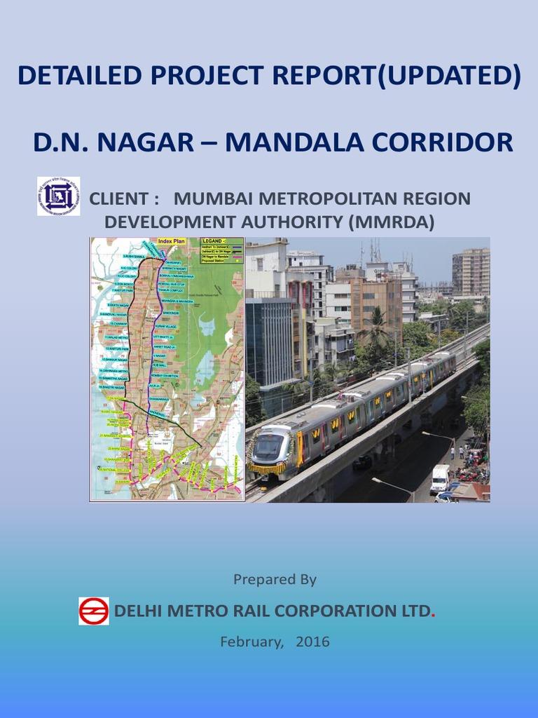 Metro Line 2B (D. N. Nagar to Mandale) | Transportation Engineering | Rail  Transport