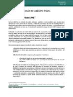 Herramienta 6 MET Matrix