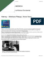 Harvey – Mortuos Plango, Vivos Voco   HISTORIA DE LA MÚSICA