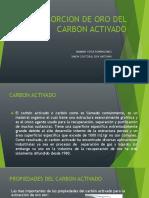 Desorcion de Oro Del Carbon Activado