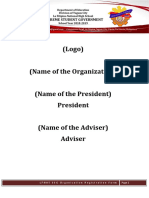 SSG Organization Registration Forms