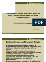 Presentacion Predial Arequipa Antonio Morales