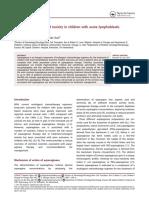 Asparaginase Toxicity