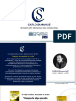Portafolio de Proyectos CS COACHING CONSULTIG 2018
