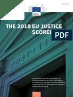 Justice Scoreboard 2018  ΕΚΘΕΣΗ ΓΙΑ ΤΗΝ ΛΕΙΤΟΥΡΓΙΑ ΤΗΣ ΔΙΚΑΙΟΣΥΝΗΣ ΣΤΗ ΕΕ