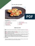 Aubergines Farcies Aux Pâtes Grecques