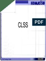 PC200-7 CLSS Training