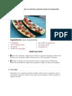 Courgettes Gratinées Au Chorizo
