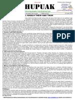 Thupuak Volume 13, Issue 03 (24 June 2018)