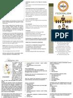 Federalism Brochure