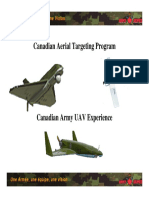 Canada_Aerial Target and UAV Paper