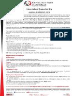 Career Opportunities 27-04-2018 Internship