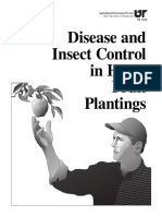 Disease and Insect Control in Home Fruit