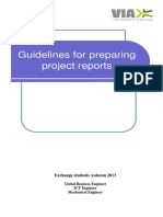 Guidelines for preparing projects reports - Echange students.pdf