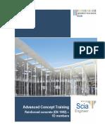 [Eng]Advanced Concept Training - Reinforced Concrete (en 1992) - 1D Members 2013.0