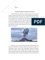 Essay Debu Vulkanik