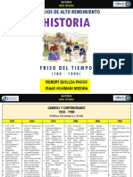Friso de Tiempo 1850 - 1900