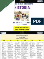 Friso de Tiempo 1850 - 1900 | Robert Quillca Pacco