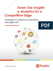 Manufacturers Use Insights From Data Analytics for a Competitive Edge
