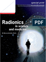 TimeWaver AR Article Specialprint Raum Und Zeit Magazine Radionics in Science and Medicine En