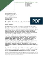 C5 Medical Werks v. CeramTec - Supplemental Authority
