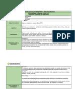 Formato Planeación de Clases